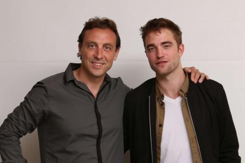 Herve&RobertPattinson2